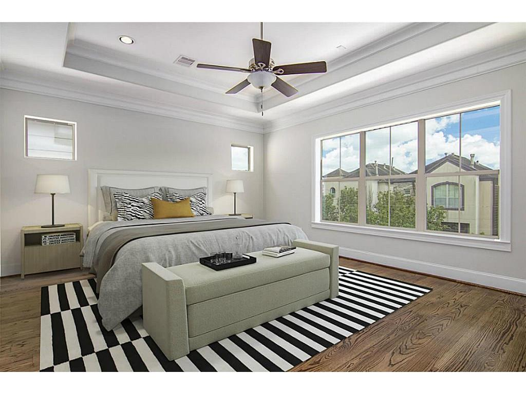 high quality Houston, TX virtual staging photography